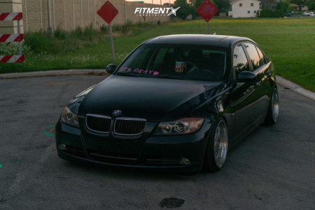 2006 BMW 325i - 18x9 38mm - Avant Garde M240 - Coilovers - 205/40R18