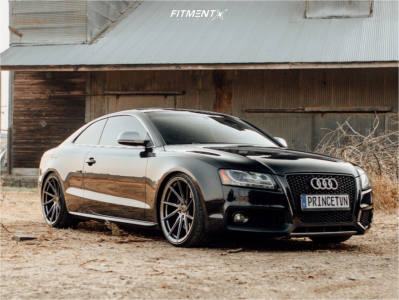 2008 Audi S5 - 20x10 35mm - Stance Sf-01 - Coilovers - 265/30R20