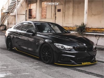 2016 BMW 435i - 19x8.5 35mm - Niche Gamma - Coilovers - 235/35R19