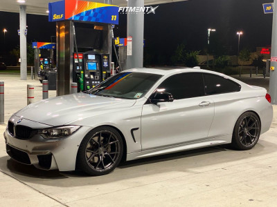 2015 BMW 435i Gran Coupe - 19x8.5 32mm - Stance Sf-07 - Coilovers - 245/35R19