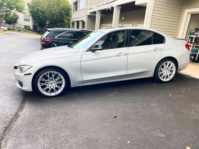 2015 BMW 335i xDrive - 19x8.5 35mm - TSW Sebring - Stock Suspension - 235/35R19