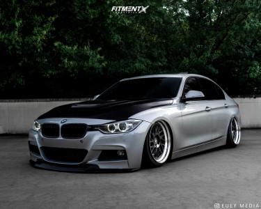 2014 BMW 335i - 19x9 37mm - ESR Forged Es1-t - Air Suspension - 215/35R19