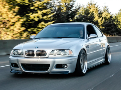 2001 BMW M3 - 18x10 19mm - CCW Classic - Coilovers - 245/40R18