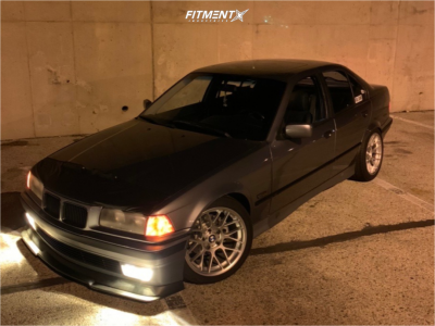 1994 BMW 325i - 17x9.5 35mm - Apex Arc-8 - Coilovers - 215/30R17
