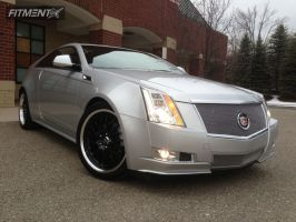 2011 Cadillac CTS-V - 20x8.5 40mm - Enkei Lusso - Stock Suspension - 245/40R20