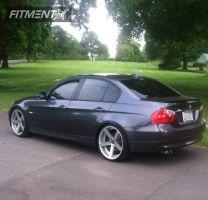 2008 BMW 328i - 20x9 35mm - Rohana RC22 - Lowered on Springs - 245/30R20