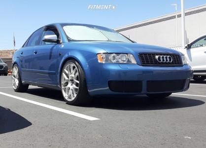 2002 Audi A4 - 19x8.5 35mm - VMR V710 - Lowering Springs - 225/40R19