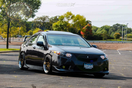 2012 Acura TSX - 18x9.5 30mm - Aodhan Ds07 - Coilovers - 225/40R18