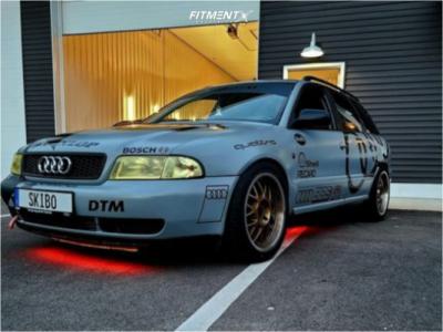 1998 Audi A4 Quattro - 17x9 40mm - Voxx Misano - Coilovers - 255/40R17