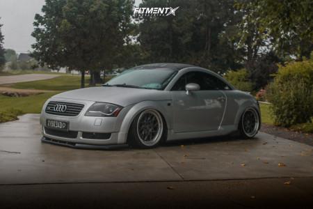 2001 Audi TT Quattro - 18x8.5 30mm - ESR Cs3 - Air Suspension - 215/35R18