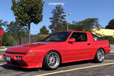 1988 Chrysler Conquest - 17x9.5 25mm - Work Rezax - Coilovers - 235/40R17