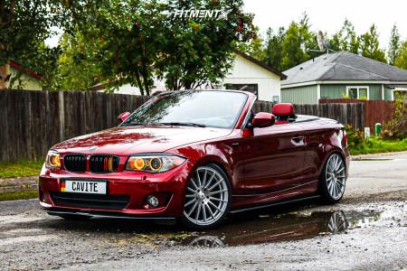2012 BMW 128i - 19x8.5 38mm - Asanti Black Abl-14 - Coilovers - 235/35R19