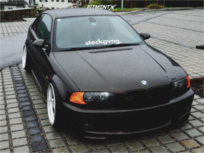 2001 BMW 330Ci - 18x10 -2mm - Work Meister S1 3p - Coilovers - 225/35R18