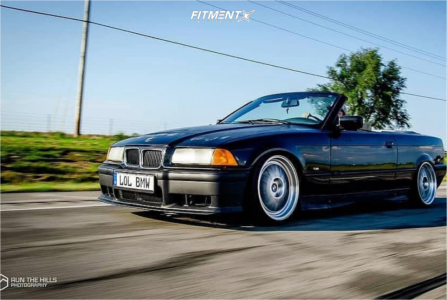 1996 BMW 328is - 18x9 40mm - BBS Lm - Coilovers - 215/35R18