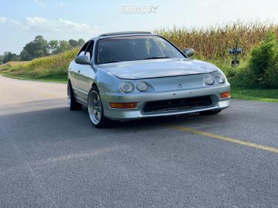 1998 Acura Integra - 16x8 15mm - Aodhan AH03 - Coilovers - 205/40R16
