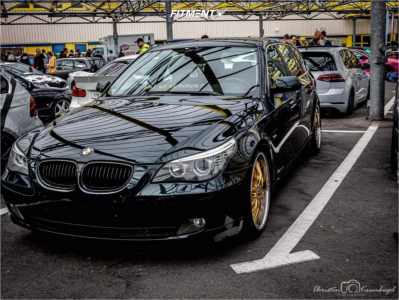 2007 BMW 525i - 20x8.5 15mm - Royal GT20 - Coilovers - 225/30R20