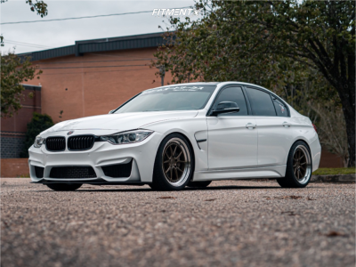 2014 BMW 335i - 19x8.5 35mm - Aodhan Ds08 - Coilovers - 245/35R19