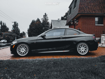 2016 BMW M235i xDrive - 18x8.5 35mm - Rotiform Rse - Coilovers - 225/40R18