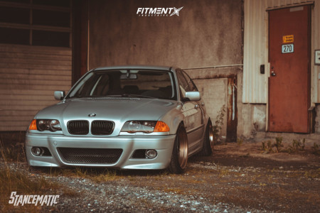 1999 BMW 3 Series - 18x9.5 20mm - 59°northwheels D-007 - Coilovers - 225/35R18