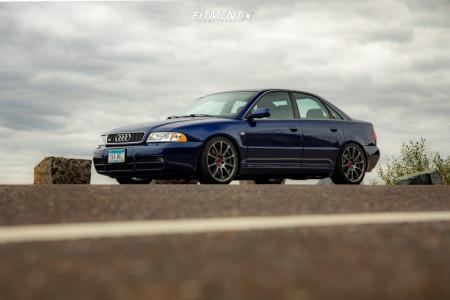 2001 Audi S4 - 18x8.5 35mm - VMR V701 - Stock Suspension - 225/40R18