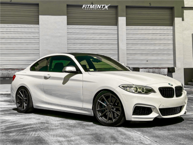 2016 BMW M235i - 18x8.5 35mm - TSW Bathurst - Lowering Springs - 225/40R18