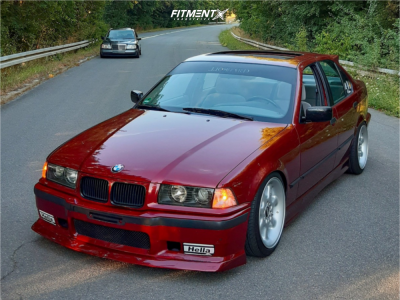 1994 BMW 318is - 17x8 10mm - BBS EB 006 - Coilovers - 215/40R17