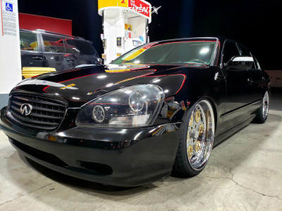 2002 Infiniti Q45 - 20x8.5 8mm - MC Motorsports Fully Loaded - Coilovers - 225/35R20
