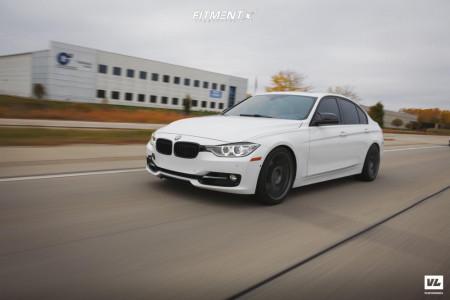 2013 BMW 335i - 19x8.5 35mm - Aodhan Ls002 - Lowering Springs - 245/40R19