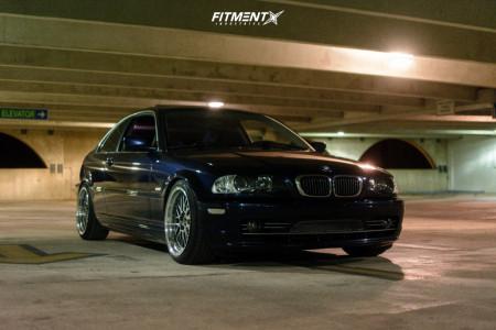 2001 BMW 330Ci - 18x9 34mm - Jnc Jnc005 - Coilovers - 215/40R18