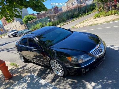 2007 Acura RL - 20x8.5 25mm - Rennen Csl-2 - Coilovers - 225/35R20