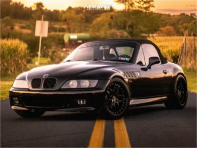 1997 BMW Z3 - 18x8.5 32mm - ESR Cs15 - Lowering Springs - 245/35R18