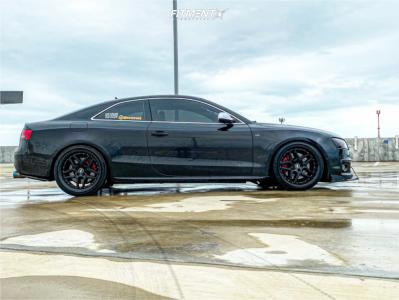 2011 Audi S5 - 19x10.5 22mm - ESR Cs15 - Stock Suspension - 235/35R19