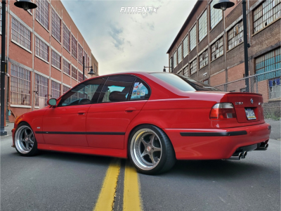 2000 BMW M5 - 18x9 -4mm - OZ Racing Mito - Coilovers - 235/40R18