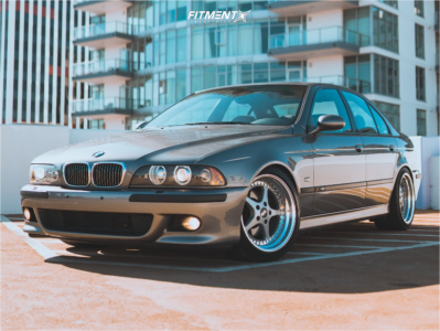 2002 BMW M5 - 18x9.5 15mm - OZ Racing Mito - Coilovers - 245/40R18