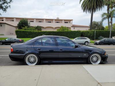 2002 BMW M5 - 18x9.5 22mm - ESR Sr05 - Coilovers - 235/35R18