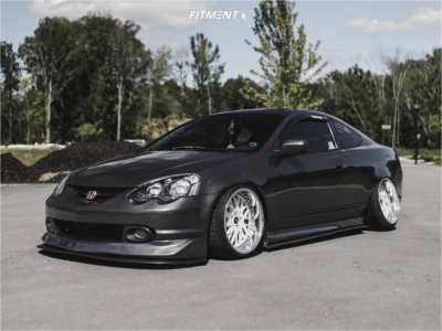 2004 Acura RSX - 18x9.5 8mm - Work Rezax Ii - Coilovers - 215/35R18