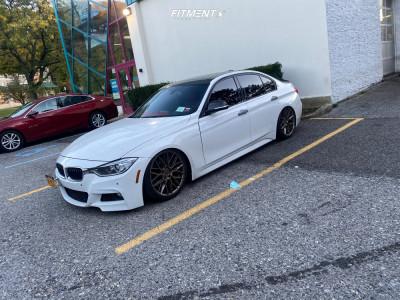 2015 BMW 335i xDrive - 19x9 35mm - Niche Gamma - Coilovers - 235/35R19