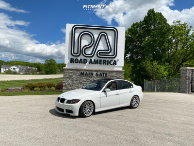 2008 BMW 335i - 19x9 35mm - Avant Garde M359 - Coilovers - 215/35R19