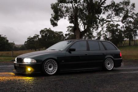 1997 BMW 528i - 18x9.5 35mm - Rotiform Las-r - Coilovers - 235/35R18