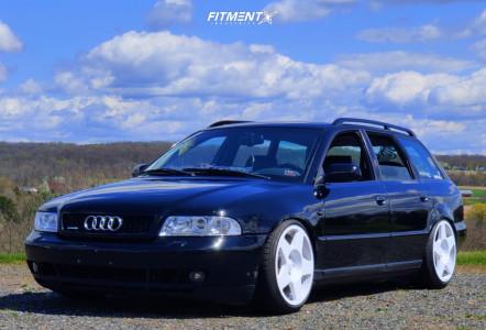 2001 Audi A4 Quattro - 18x9.5 40mm - Fifteen52 Tarmac - Coilovers - 205/40R18
