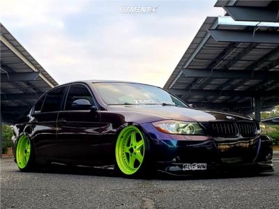 2008 BMW 335xi - 19x9.5 22mm - ESR Sr04 - Air Suspension - 225/35R19