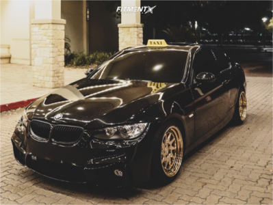 2008 BMW 328i - 18x9.5 35mm - ESR Sr09 - Stock Suspension - 235/35R18