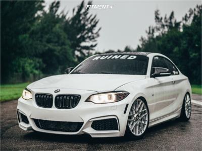 2015 BMW M235i - 18x8.5 35mm - Rotiform Rse - Coilovers - 225/35R18