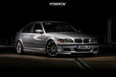 2004 BMW 330i - 18x8.5 50mm - BMW MV2 - Coilovers - 255/35R18