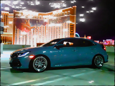 2020 Honda Civic - 18x8.5 35mm - F1R F21 - Lowering Springs - 225/45R18