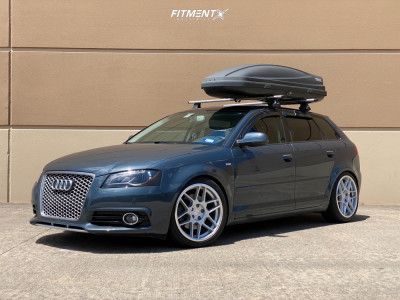 2012 Audi A3 - 18x8.5 42mm - 3SDM 0.09 - Coilovers - 225/40R18