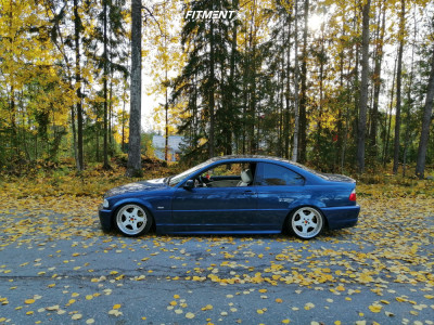1999 BMW 323i - 17x9 16mm - Artec L Edition - Coilovers - 195/45R17