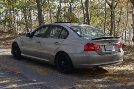 2010 BMW 328i xDrive - 17x8 35mm - Platinum Retribution - Coilovers - 225/45R17