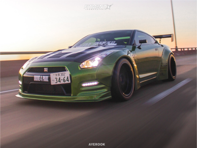 2013 Nissan GT-R - 20x11 -15mm - RVL GEM - Coilovers - 305/35R20