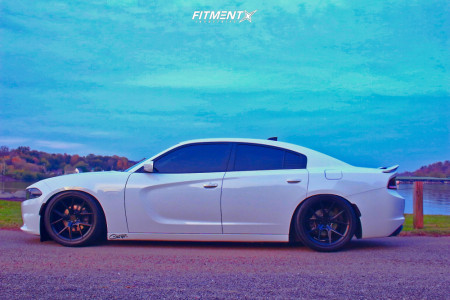 2018 Dodge Charger - 20x9.5 25mm - Verde Axis - Coilovers - 275/45R20